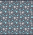 abstract winter pattern vector image vector image