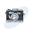 camera character funny vector image