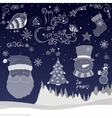 Christmas Icons set vector image