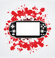 game graphic vector image