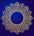 Mandalas Ethnic decorative elements in a circle vector image vector image