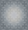 Pattern white on grey vector image vector image