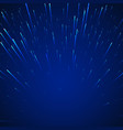 sci-fi abstract background stars in dynamic vector image vector image