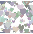 seamless valentines day background pattern vector image vector image