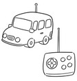 set of remote control car vector image