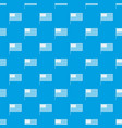 american flag pattern seamless blue vector image vector image