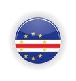 Cape Verde icon circle vector image