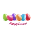 easter festive background for greeting cards vector image vector image