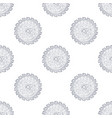 hand drawn circular saw seamless pattern vector image