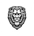 head lion silhouette clipart vector image vector image