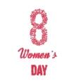 International Happy Women s Day concept vector image vector image