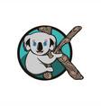 koala mascot vector image