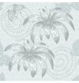 Silvery vintage seamless pattern vector image vector image