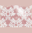 baroque pattern old fabric background vector image vector image