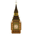 Big Ben Clocktower vector image vector image