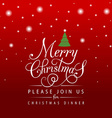 Flat design stlye Christmas Card with stars and vector image