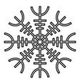 helm of awe aegishjalmur or egishjalmur icon