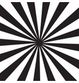 white and black rays background pop art style vector image