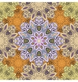 Pastel seamless pattern with flowery vector image vector image