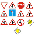 priority signs vector image