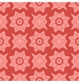 Red Ornamental Seamless Line Pattern vector image vector image
