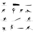 winter Olympic games vector image