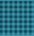 blue lumberjack seamless pattern vector image