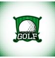 label golf championship vector image