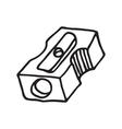 Pencil sharpener icon vector image vector image