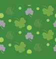 shamrock background design vector image