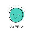 emoji smile vector image vector image