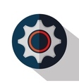 gear machine cog icon vector image