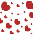 hearts wallpaper symbol love vector image