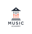 Music academy logo design