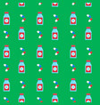 seamless background pattern medicine vector image vector image