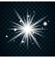 Shine star sparkle icon 11a vector image vector image