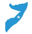Somalia Flag vector image vector image