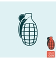 Granade icon isolated vector image