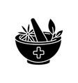 ayurveda black glyph icon