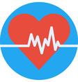 Cardio heart vector image vector image