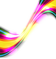 colorful glow background vector image vector image