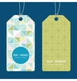 colorful pastel triangle texture vertical round vector image vector image