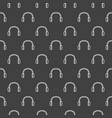 dark headphones pattern vector image vector image