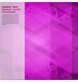 geometric purple abstract background with copy vector image