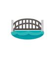 harbour bridge landmark australia icon on white vector image