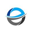 letter e logo icon vector image vector image