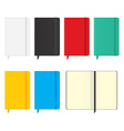 Moleskine notebooks vector image