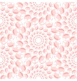 Nacreous pearl pink jewelry seamless pattern vector image
