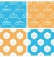 Scheme pattern set colored