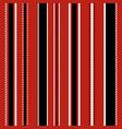 stripe seamless pattern vector image vector image
